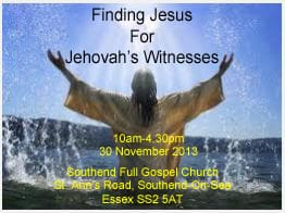 Finding Jesus Meeting for Jehovah's Witnesses