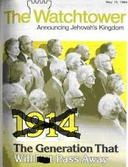 The Generation of 1914 - Another failed prediction by the Watch Tower Society.