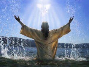 Jesus baptised